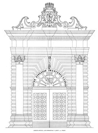 """Il Palazzo baronale """"Francesca Capece"""" – Maglie (Lecce)"""